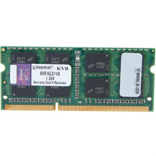 KINGSTON 8GB 1600MHz SO-DIMM DDR3L CL11 1.35V